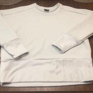 Textured Nike crew neck